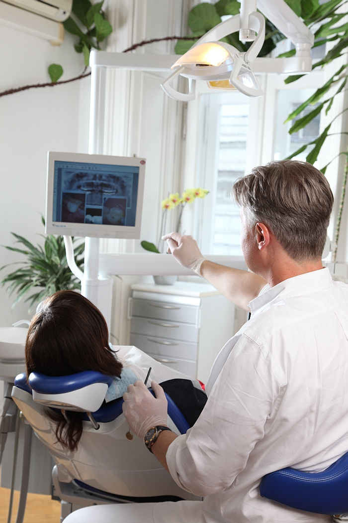 Behandlung - interaktive Information, Zahnarzt Wien 1090