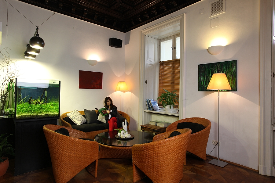 Wartezimmer Lounge, Zahnarzt Wien 1090