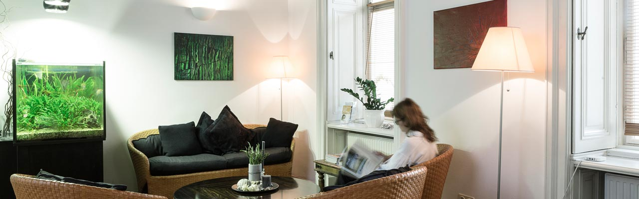 Ambiente Wartezimmer Zahnarzt 1090 Wien